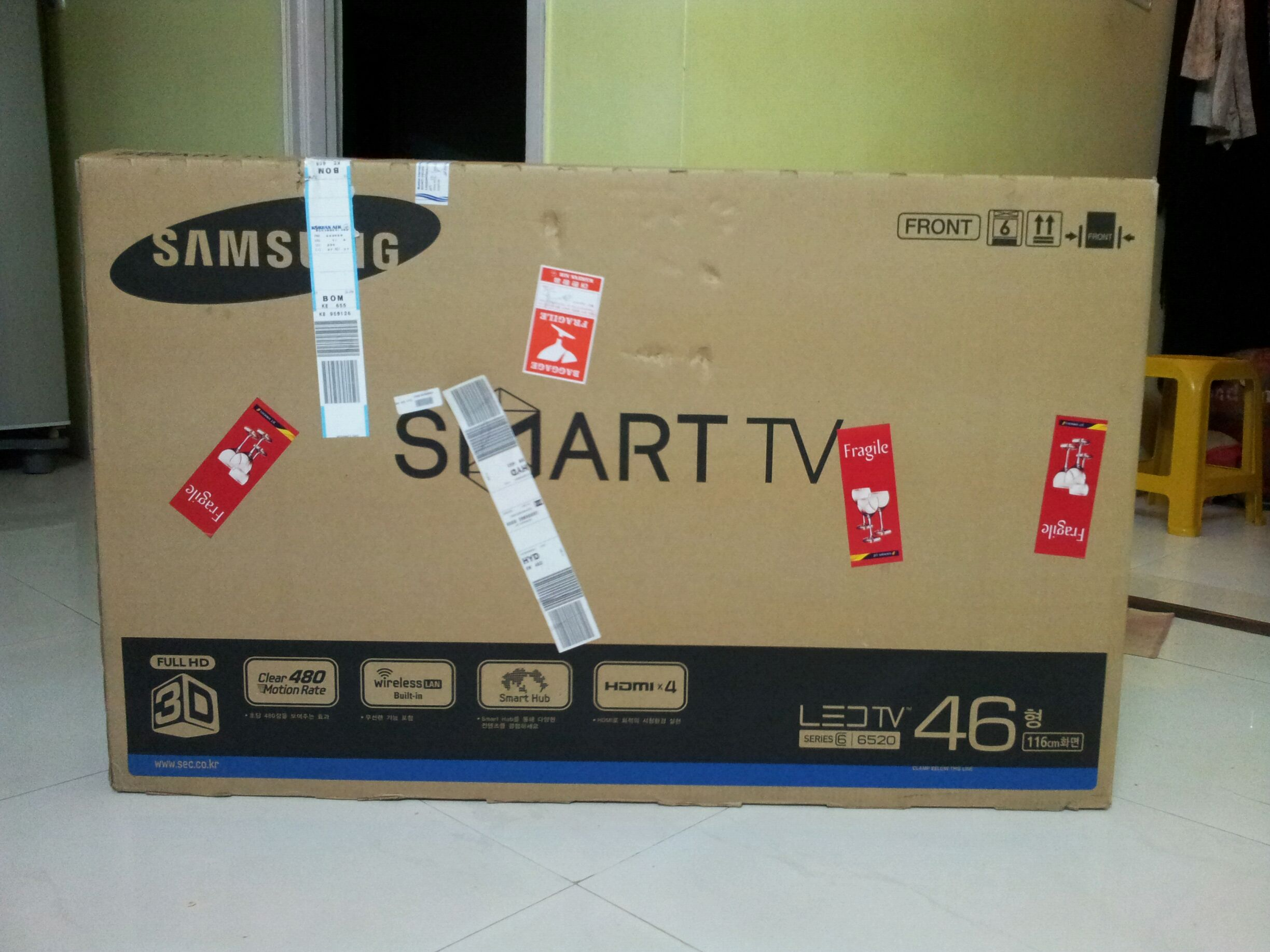 d4abad033bb How I Bought A 46 Inch LED 3D Smart TV To India - All About Education